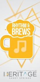Rhythm & Brews presented by Heritage Sandy Springs