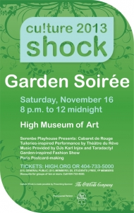 $8 tickets to Culture Shock at the High