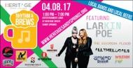 VIP Tickets to Rhythm & Brews $27.50 (reg. $55.00)