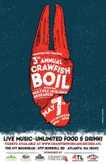 Half off All Inclusive Crawfish for Cancer Tickets at the Ivy (Only $35!)